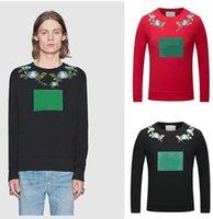 Wholesale Leopard Hoodies For Men - Fashion Italy Designer hoodies for men women Luxury Brand G & G Donald Duck Tiger Print Men's Hoodies & Sweatshirts Palace mens hoodie Labe