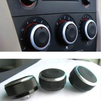 Wholesale Switch Car Heater - 3pcs set Car Air-condition Heater Knob Control Panel Elegant Switch Knob For Mazda 3 2004-2009