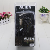 Wholesale Aliens Figure Neca - 7'' New NECA Official 1979 Movie Classic Original Alien Action Figure Toy Doll Christmas Gifts