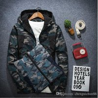 Wholesale Big Jackets For Men - the new youth men's Hooded Jacket casual jackets thin design big size clothes outside for men