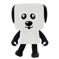 Wholesale Bluetooth Toys - 2018 Mini Bluetooth Speaker Smart Dancing Dog toy Speakers New Multi Portable Bluetooth Electronics Speakers Loudspeaker Creative Gift toys