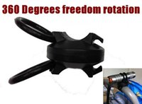 Wholesale Freedom Light - High Quality Plastic LC3 360 degrees freedom rotation bicycle light Mount Holder (Rapid demolition installation )- Free shipping