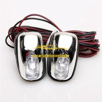 Wholesale Windscreen Washers - 10 Pairs Of 12V Car SMD Bulbs Light Lamp Blue LED Light Windscreen Washer Water Jets