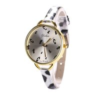 bling watch bands - 2015 new fashion high quality Women s Bling Faux Leather Slim Leopard Band Analog Quartz Dial Wrist Watch