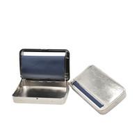 rolo de máquina de caixa venda por atacado-1 X 110 MM Papers Automático Cigarro de Fumar Rolling Metal Máquina Roller Box Nós podemos personalizar o seu logotipo