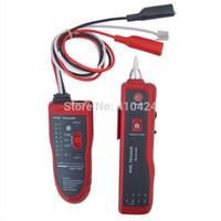 ingrosso tracker telefonico di rete-NOYAFA NF 806R Network Telephone Cable Tester LAN Wire Tracker con cuffia per ordinare $ 18no track