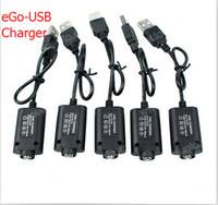 ego v cabo usb venda por atacado-eGo Carregador USB para ego t evod Bateria E Cigarro CE4 CE5 MT3 510 fio 4.2 V 420 mAh 5C entrada usb ego cobrando cabo longo e curto