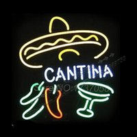 2015 Neon Sign commerciale logo personalizzato Neon Sign Natale Cantina Neon Sign Handicraft Conservare Display 24 * 24