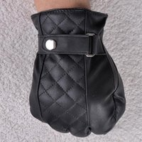 Gros-mode casual Hommes Faux cuir Gants Finger complet Homme Boys gants mitaines Hot Sport