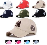 Wholesale Ny Fitted Hats Wholesale - newest 10 colors Yankees Hip Hop Snapback Baseball Caps NY Hats MLB Unisex Sports New York Women casquette Men Casual headware hunting hat