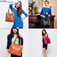 Wholesale Cheap Leather Handbags For Women - Fashion Cheap Four Colors Shoulder Bags For Women MYF48Brand Women's Handbag bag Purses PU Leather fashion Shoulder Bags Retro Handbag bag