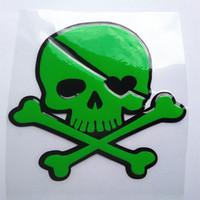 ingrosso tappi di cranio in plastica-Intera vendita Tappo serbatoio carburante impermeabile autoadesivo del cranio
