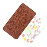 Wholesale Wholesale Fondant Sales - Hot sale Cake Ice Mould Chocolate Fondant Cookies Alphabet Letter Mold Silicone Free Shipping TY1710