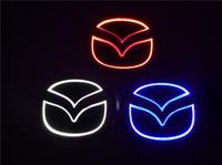 badge logo mazda achat en gros de-Pour MAZDA 2 / MAZDA 3 6 8 8 / MAZDA CX7 Nouvelle 5D Auto Badge standard LOGO Lampe Spécial voiture modifiée logo LED lumière 10 cm * 8 cm / 12,0 cm * 9,55 cm