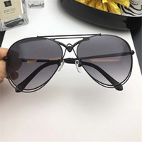 Wholesale dark blue goggles for sale - 5061 Sunglasses Women Brand Designer Roberto Dark Brown Snake Print Gold Brown Luxury Sunglasses UV Protection Oval Frame Come With Case