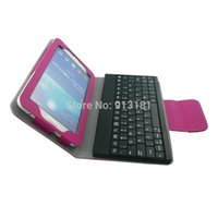 Wholesale-20pcs senza fili Bluetooth 3.0 tastiera caso rimovibile per Galaxy Tab 3 7