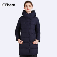 Wholesale Womens Hot Thicken - x201711 ICEbear 2017 Hot Sale Winter Womens Bio Down Thickening Jacket And Coat For Women High Quality Parka Five Colors 16G6128D