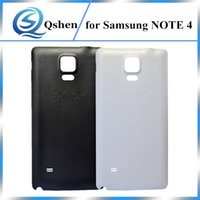 100% New Back Battery Cover Cover Back Door Custodia originale di ricambio per Samsung Galaxy Note 4
