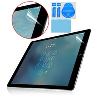 Front Clear Screen Protector Film Screen Protector LCD para Apple IPad Pro 12.9 ipad mini 4 7,9 polegadas com kit de ferramentas de limpeza