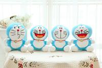 Wholesale Dream Sat - Viking pendant trumpet shall sit sucker A Dream Doraemon Car Decoration sucker plush toys 18cm