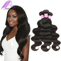 Wholesale Cheap Grade Weave - Grade 7A Quality Brazilian Virgin Hair Body Wave Unprocessed Malaysian Indian Peruvian Hair Weave Bundles Cheap Remy Human Hair Extensions