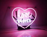 Neon Sign Love 24 ore per camera da letto Bar Garage Windows Game Room 15