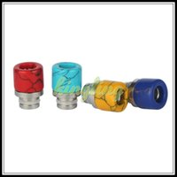 Wholesale Wholesale Price Jade - Factory price wholesale new stainless steel + jade drip tip jade jewelry drip tips Turquoise drip tip ,drip tips wholesale