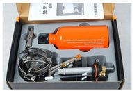 Wholesale Lightweight Multi Fuel Camping Stoves - Wholesale-Outdoor Portable Multi Fuel Picnic Camping Stove Cook Cooking Lightweight Backpacking With Color Box Equipment Gas