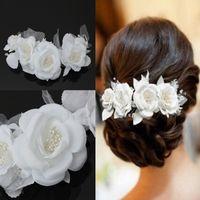 Wholesale Short Veil Pearls - New Fashion Soft Pearl Short Bride Hair Accessory Wedding Beauty Brides Hair Decoration Veil Bridal Veil Wedding Accessories