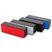nuevo altavoz inalámbrico de caja al por mayor-Nuevo N16 Altavoz Bluetooth Cubo de agua Altavoces inalámbricos para exterior Altavoces dobles Estéreo Audio Caja de música Panel táctil Control Protable Estéreo