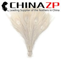 Wholesale Ivory Peacock - Leading Supplier CHINAZP Crafts Factory 25~30cm(10~12inch) Colorful Dyed Ivory Full Eye Peacock tail Feathers for Cosplay Decoration