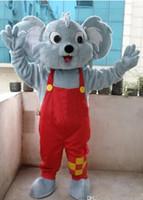 Wholesale Mascot Animal Costume Koala - Professional Koala Bear Mascot Costume Fancy Dress Adult Size New Arrival free shipping