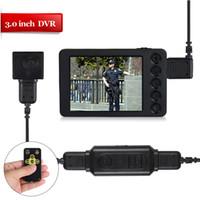 Wholesale hdmi recorders - VD7000II+501HD 3.0 inchDigital remote control video body recorder HDMI 1080P full HD button body camera support Continuous Recording motion