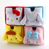 df41732057 Cartoon Japan Hello Kitty My Melody Cinnamoroll Dog Pudding Dog Cosmetic  Bags Accessories Box Storage Bag Pouch Girl Makeup Bags