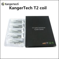 Wholesale Mt3 Wick Dhl - Authentic Kangertech T2 Clearomizer Coils Replacement Coil Head with Long Wicks t2 coils for t2 tank atomizer vs Kanger T3S MT3 Coil DHL