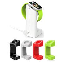 зарядное устройство для док-станции оптовых-DHL освобождают !! для Apple Часы E7 Stand Владельцев 2015 Новый SmartWatch Holder Часы Выставочный стенд Зарядная база Пластиковые зарядное Ленивый кронштейн док