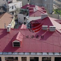 Wholesale Resin tile villa tile glazed tile caigang watts asbestos shingle iron globe synthetic resin tile plastic watts