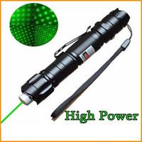 1mw lasers venda por atacado-Brand New 1 mw 532nm 8000 M de Alta Potência Verde Laser Pointer Light Caneta Lazer Feixe Verde Lasers Caneta Lápis Militar ePacket Frete Grátis