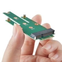 Carte adaptateur SMAKN® mSATA Mini PCI-E 3.0 SSD vers NGFF M.2 B (interface SATA) TS