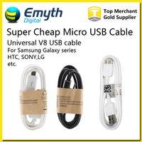 galaxy note2 achat en gros de-Super câble de données micro USB synchro câble de données USB 3.0 1M 3FT pour Galaxy Note2 S3 S4 S6 Note 3 Remarque 4 HTC M8 Blackberry SONY
