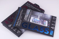 ingrosso protettore dello schermo caldo del telefono-Scatole di pacchetto di vendita calda 1000pcs scatola di imballaggio del protettore dello schermo del telefono colorato per l'imballaggio del film di vetro temperato