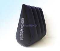 Wholesale Toughage Triangle - Sex Products TOUGHAGE Magic Triangle Sex Pillow Cushion Position Sex Pillow Inflatable Sofa Toys,Sex Furnitures For Couple