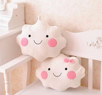 Wholesale Wholesale Lover Pillows - hot cute plush toy creative smiling cloud lover cushion holding pillow good for gift