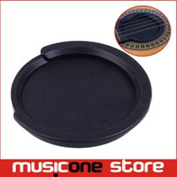 Wholesale 38 Acoustic Guitar - 5pcs Alice Screeching Halt Acoustic Guitar Sound Hole Cover Block Plug For 38' 39' Acoustic Guitar MU0616