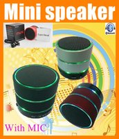 Wholesale Cheap Portable Wireless Speaker - Handfree mini bluetooth speaker with LED Portable wireless super bass Hifi home stereo outdoor amplifier music cheap speaker S09 MIS041