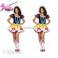 Wholesale Fairy Tale Costumes For Women - Wholesale-cosplay Fairy Tale Princess Role-playing Dress fantasia halloween costumes for women High Quality christmas costumes HBX030