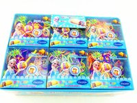 Wholesale Wholesale Fun Loom Bands - Frozen Fun colourful loom bands DIY bracelets rubber rainbow band Anna Elsa bracelet the summer gift toy for children child 369