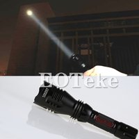 Wholesale Original Cree Torch - Original New SupFire Y3A Cree T6 350 Lumen IP67 Level 5 Files 3W LED Flashlight Rechargable Torch Hunting by 18650 Battery Source