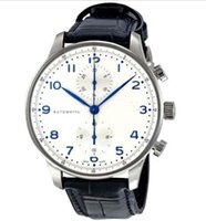 Wholesale Automatic Portuguese - Luxury Watches Brand Men Watch Portuguese Chronograph Automatic Mens Watch 371446 WristWatches