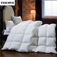 Atacado - Ganso Down Blanket Filler / Filling King Size Cotton Feather Comforter Winter Quilts